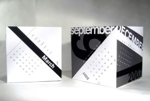 Calendar Cubes by cityechoes