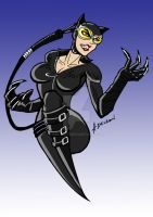New 52 Catwoman WIP by ADL-art