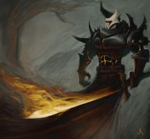 Flame knight by jasperavent