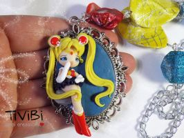 Sailor Moon cameo by tivibi