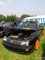 Golf III hot orange by JJx95