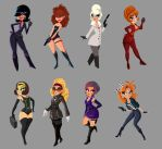 Spy girls by hammywammy