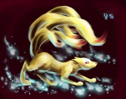 Mystique Ninetales by canarycharm