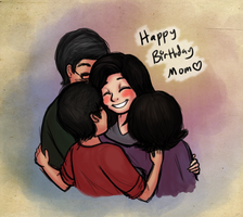 Happy Birthday Mom by serenamidori