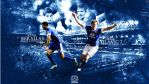 Nikica Jelavic + Kevin Mirallas by ChrisHolley