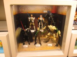 Lego Star Wars - Buildable Figures, on Display! by KrytenMarkGen-0