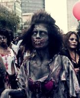 Zombie Walk Mexico City 9 by abbad0n
