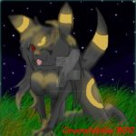 Lady in Black - 'Sexy' Umbreon by Graswhistle