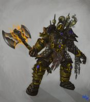 Armor Lord Hak'ret by Agreus