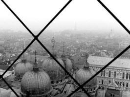 Venice from bell tower by Jules-one