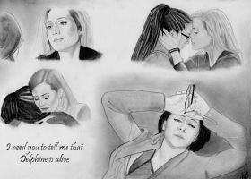 I Need You to Tell Me (Graphite Drawing) by julesrizz