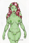 POISON IVY !!! by carlosbragaART80 colored #02 by WeaponTheory