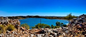 Lake Moondarra Panorama by resbian2002