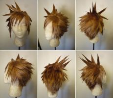 Cloud wig 2 from FFVII by taiyowigs