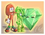 Knux, Sapphire and M.E. by mmishee