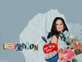 Leighton Meester wallpaper by bo-go97