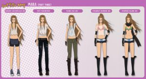 Outfits Map: Mara (part 3) by Enjoumou