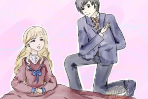 Victorian Percabeth by HiThereSmiley