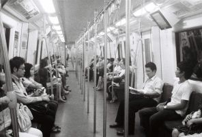 Bangkok Subway by Anomonny