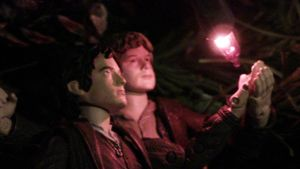 Sam and Frodo-Glow by Flame22