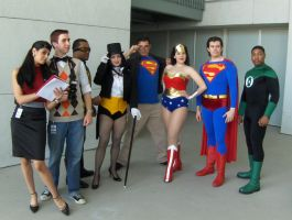 Almost the Justice League by miss-kitty-j