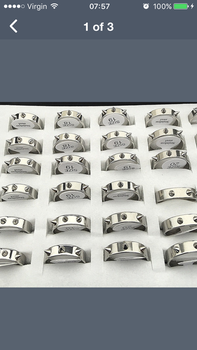 Self defence spike rings by ricks1556