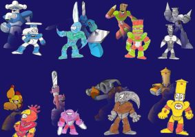 Robot Masters: All by Rootay