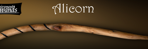 Alicorn (Handmade Harry Potter wand) by Inspirement