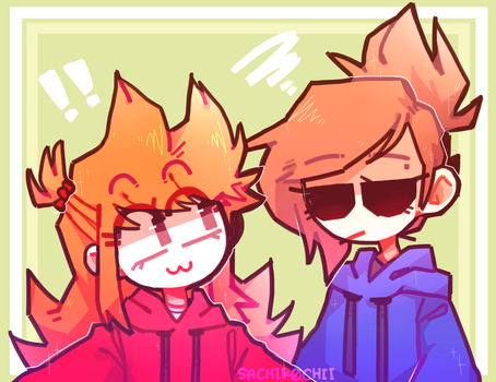 Eddsworld || Ellsworld - Tori and Tamara by SachikoChii