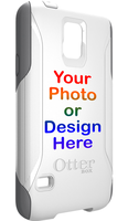 White OtterBox Commuter Case with UV Print by zzPrintUSA