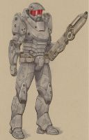 Armored trooper 4 by Jepray