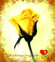 As Yellow As This Rose... by xanthisma