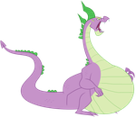 Spike ate everypony by spikevore
