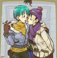 Bulma x Chichi: Mistletoe by Glay