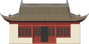 Chinese Traditional House by Herbertrocha