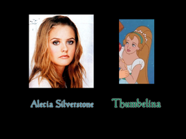 Thumbelina - Alecia Silverstone by FalseDisposition