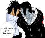 Itachi's Last Words by imranfazil