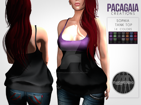 Sophia Tank Top by LainePacagaia