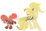 PokePony Adoptables9 by Sakuyamon