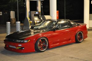 Nissan Silvia 240 SX by ticklemeimsexy