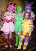 Tokyo Mew Mew by archangelselect