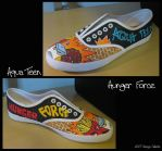 Aqua Teen Hunger Force shoe by vcallanta