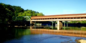 Harpersfield Bridge by stitch52481