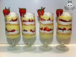 Strawberry Cheesecake Parfaits by Corpse-Queen