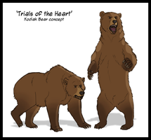 Kodiac Bear Concept Sketches by Wild-Hearts