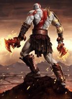 God Of War by Sheridan-J