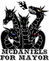 McDaniels For Mayor by crazy-fae