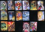 Marvel 3D Upper Deck Sketch Cards 2 by SaviorsSon