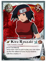 Pcomm: Kira Card by Miss-Sheepy