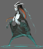 Midna- Hyrule Historia by crazyrainbowstars
